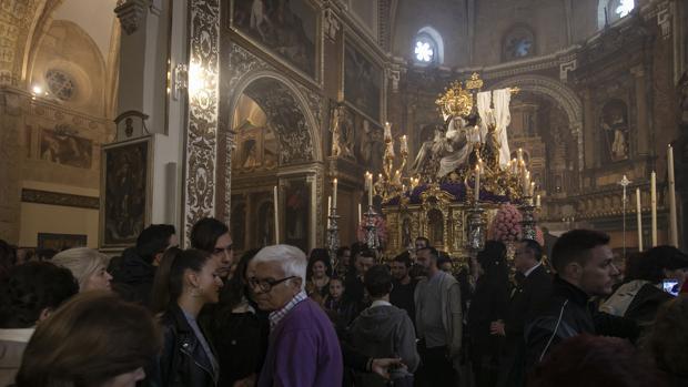 Las Angustias en la Semana Santa de 2019