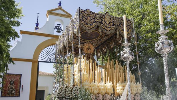 La Virgen de la Merced en la Semana Santa 2019