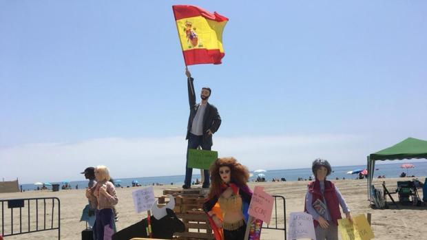 El «júas» de Santiago Abascal al que se le retiró la bandera de España