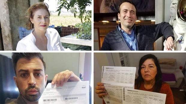 Maribel Pires, Ramón Ramírez Liñán, Francisco Carnicer y Emma, afectados por el impuesto de sucesiones