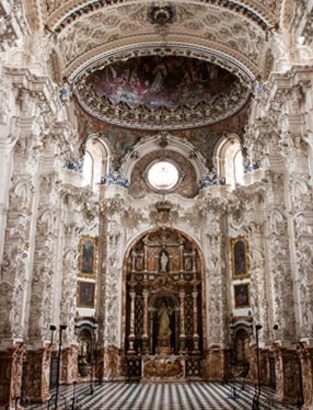 Sacristía de la Cartuja de Granada, obra maestra de Francisco Hurtado Izquierdo
