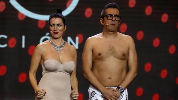 Silvia Abril y Andreu Buenafuente en la anterior gala en Sevilla