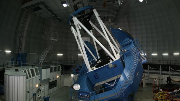 Imagen del telescopio de Granada