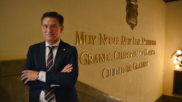 El alcalde de Granada, Luis Salvador, de Ciudadanos.