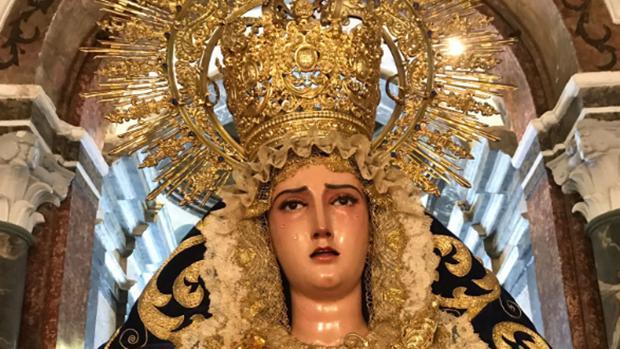 Ntra. Señora del Mayor Dolor Coronada, madre y Patrona de Aracena