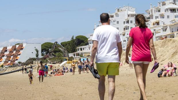 ¿Dónde estamos pasando el día de playa?