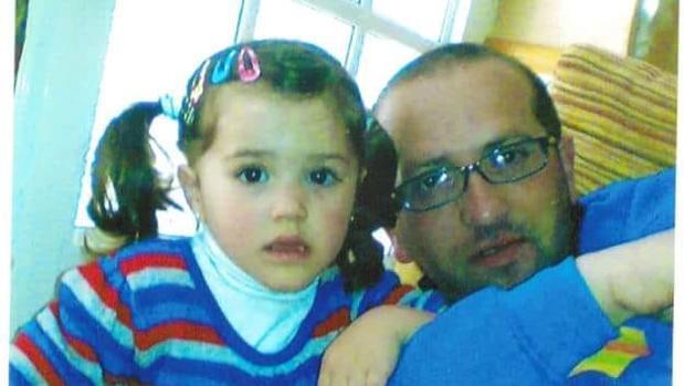 Miguel Angel Domínguez y su hija María, asesinados en Almonte el 27 de abril de 2013