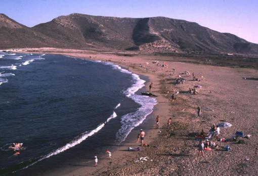Mapa de las playas más largas de Andalucía