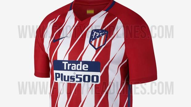 meet 5b3fb d60ff La nueva camiseta del Atlético incendia las redes