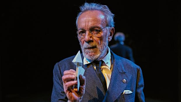José Luis Gómez, como Unamuno