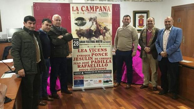 Presentación del cartel de La Campana