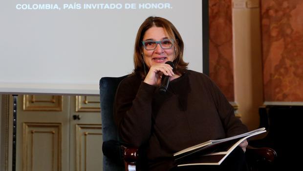 La ministra de Cultura de Colombia, Mariana Garcés, presentó ayer la participación de su país en el Festival de Almgagro