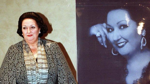 Montserrat Caballé en una imagen de 2002