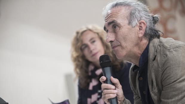Ricardo Iniesta e Isabel Ojeda durante la presentación este martes del Mitin