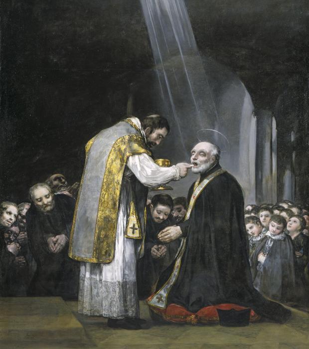 «La última comunión de San José de Calasanz», de Goya