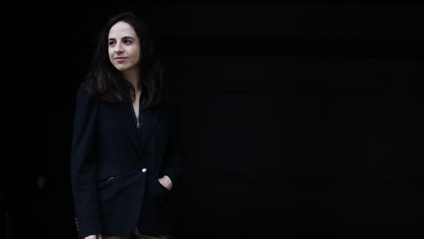 Cristina Morales, fotogrfiada en Barcelona