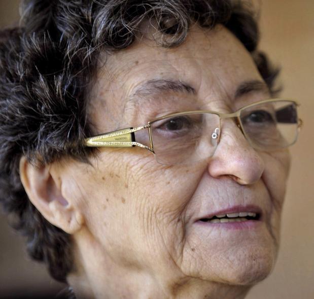 La poeta Francisca Aguirre