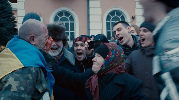 Fotograma de «Donbass», ganadora de esta edición del festival