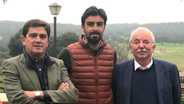 Santiago Ellauri, Miguel Ángel Perera y Pedro Rodríguez Tamayo
