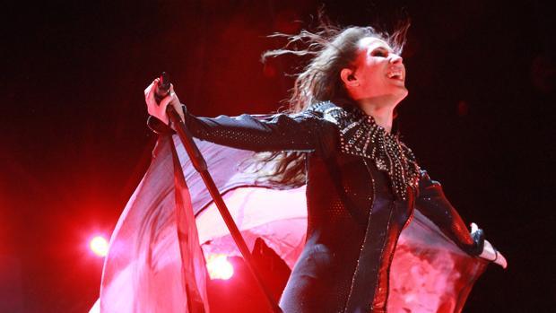 Imagen de archivo de un concierto de Malú en Sevilla