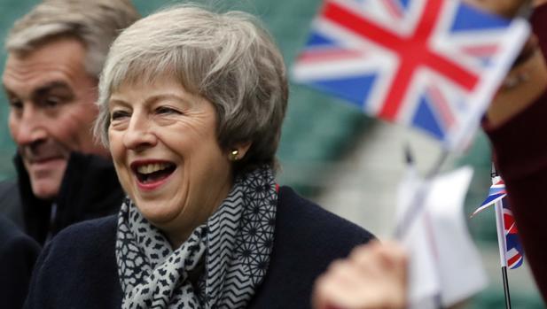 La primera ministra se enfrenta a una votación decisiva para su Brexit