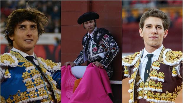 Morante de la Puebla cerrará la feria acompañado de los jóvenes Roca Rey y Ginés Marín