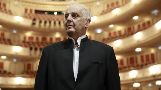 El director de orquesta Daniel Barenboim