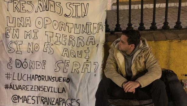 Jesús Álvarez, a las puertas de la Maestranza