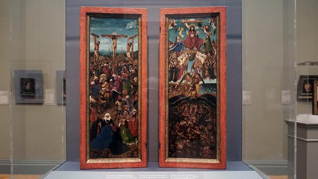 «La crucifixión» y «El juicio final», reinstalados en el Museo Metropolitano de Arte de Nueva York tras la investigación