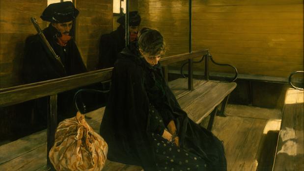 «¡¡La otra Marguerite!!», una de las obras de corte social que Sorolla pinta en 1899