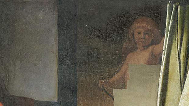 Detalle del Cupido descubierto