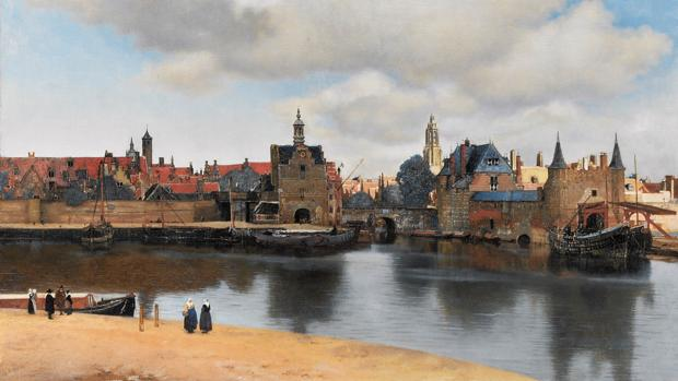 «Vista de Delft» (h. 1660), de Vermeer