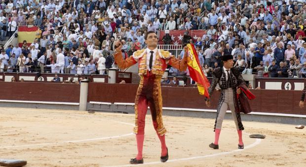 Paco Ureña, en Las Ventas