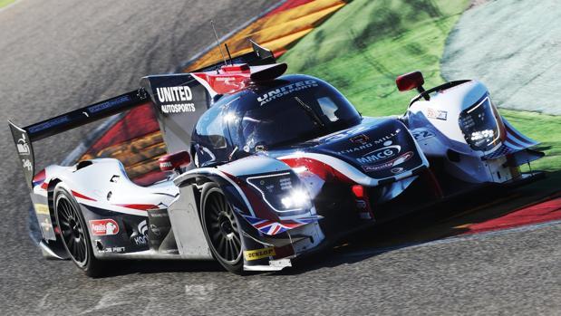 Una imagen del coche que pilotará Alonso en Daytona
