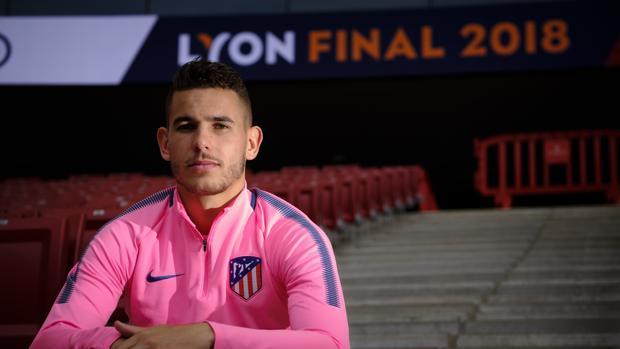 Lucas Hernández, jugador del Atlético de Madrid