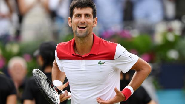 Djokovic, feliz tras lograr el pase a la final