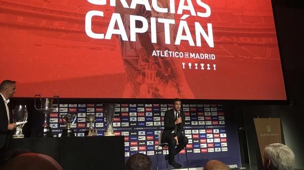 """Gabriel Fernández """"Gabi"""" se depide del Atletico de Madrid"""