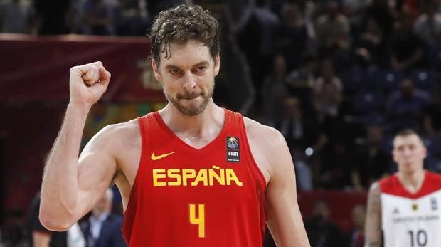 Pau Gasol, durante el Eurobasket de 2017