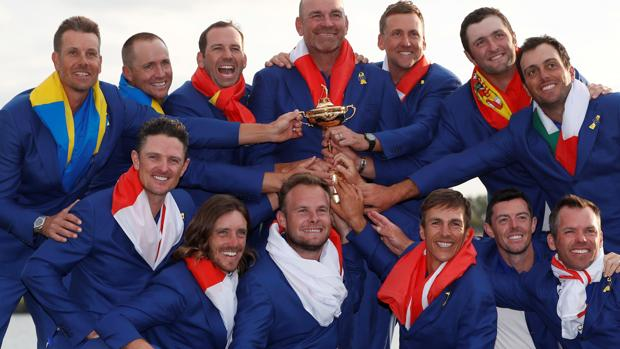 Foto de campenes de la Ryder Cup
