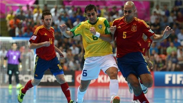 España y Brasil se enfrentaron en la final del Mundial de Tailandia de 2012