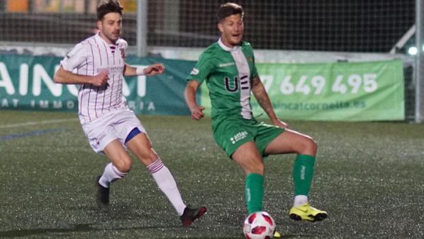 Partido de la Copa Federación entre el Cornellá y el Pontevedra
