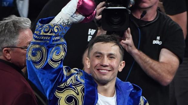 El luchador kazajo Genaddy Golovkin