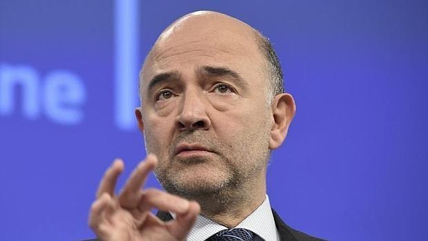 El comisario de Economía de la UE, Pierre Moscovici