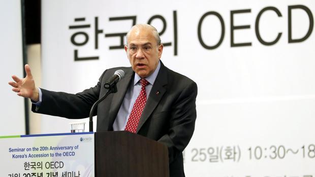 El secretario general de la Organización para la Cooperación y Desarrollo Económico (OCDE), Ángel Gurría
