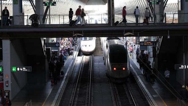 Estacion de Santa Justa en Sevilla