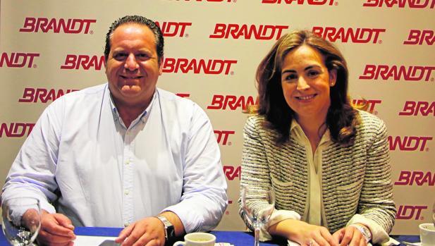 Manuel González y Lucía Cepeda, socios sevillanos de Tragusa