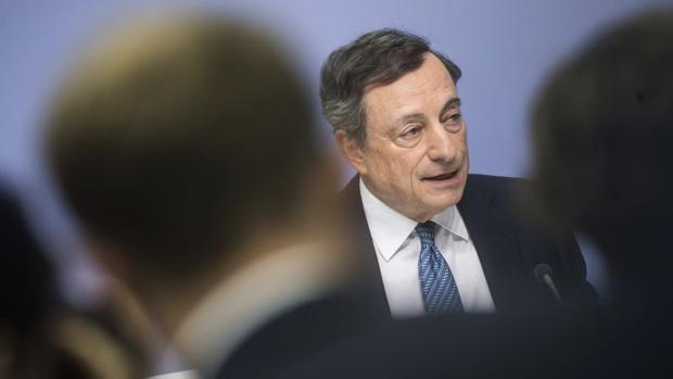 Presidente del BCE, Mario Draghi