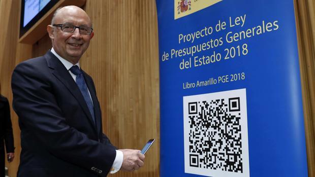 El ministro Hacienda, Cristóbal Montoro