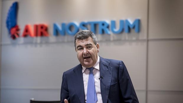 Carlos Bertomeu, CEO de Air Nostrum