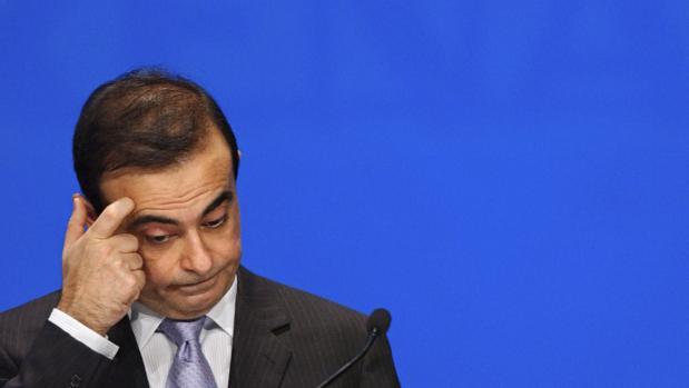 El presidente de Renault, Carlos Ghosn